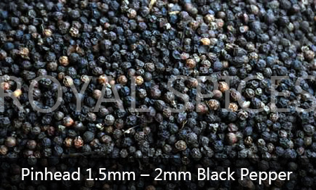Pinhead 1.5mm-2mm Black Pepper Vietnam