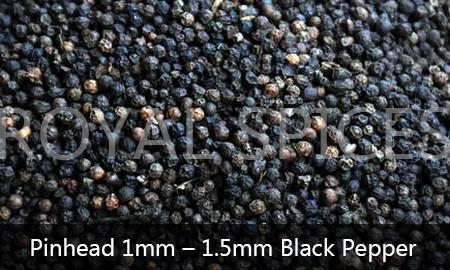 Pinhead 1mm-1.5mm Black Pepper Vietnam